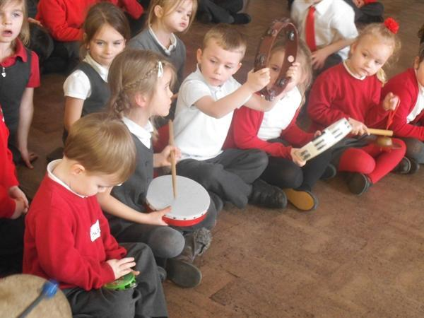 What wonderful music we are making for the dragon!