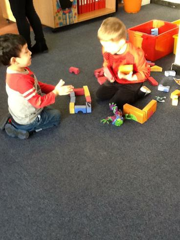 We can build using shapes