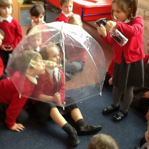 Testing what materials are waterproof
