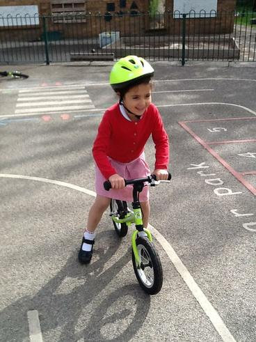 Bike Ability, learning to ride balance bikes