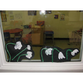 Snowdrops made by Year 2 pupils