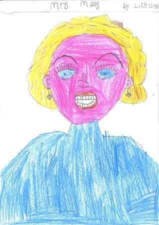 Mrs Mills. (Spring Class EYFS LSA)