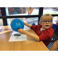 Creating static on a balloon!