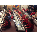 Keyboard performance in Year 6