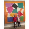 Enjoying art at the Tate Modern in Year 6