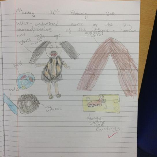 Year 3 Characteristics of bronze and iron ages