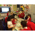 Science week investigations in Year 4