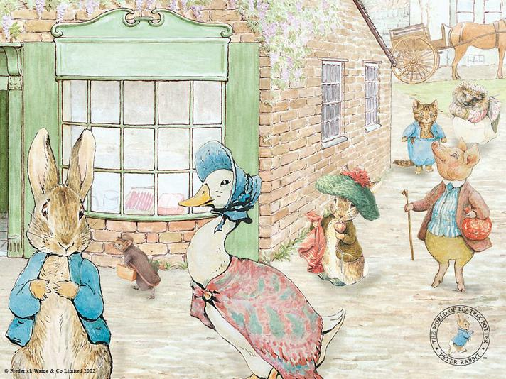 Some of our favourite Beatrix Potter characters!