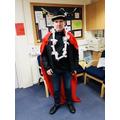 Rosen dressed Mr Egan up!