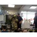 Mrs Parmar is a firefighter!