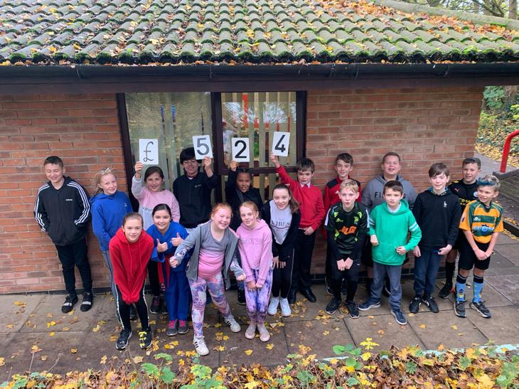 We have raised a FANTASTIC £524 for Children in Need. Well done to everybody.