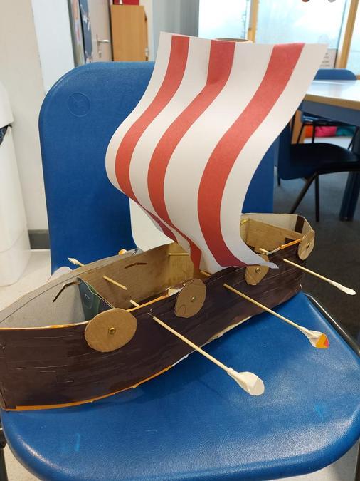 Sam C's Viking Longboat