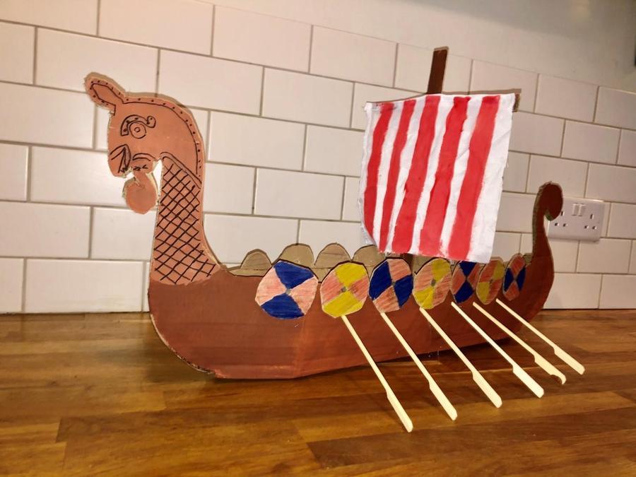 Georgia's Viking Longboat