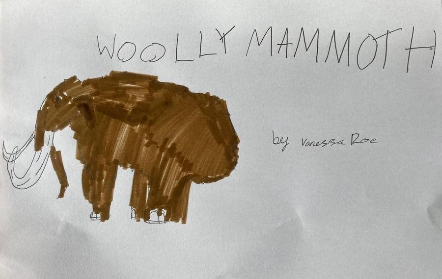 Prehistoric Drawings by Vanessa