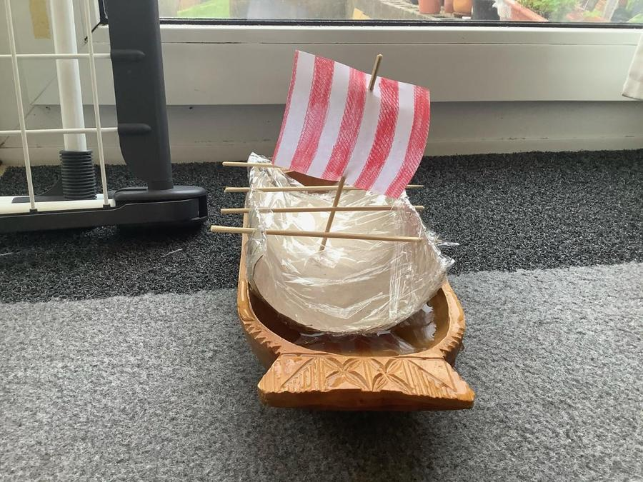 Scarlet's Viking Longboat