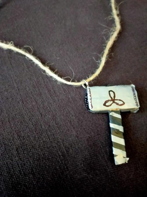 Summer's Thor Hammer Necklace