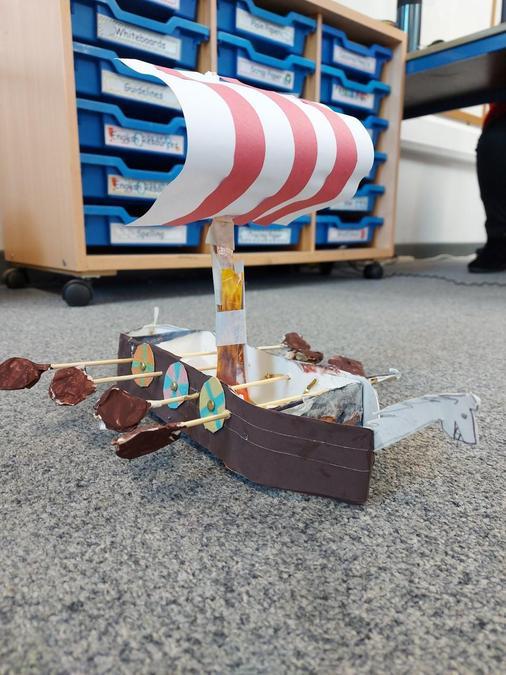 Iris' Viking Longboat