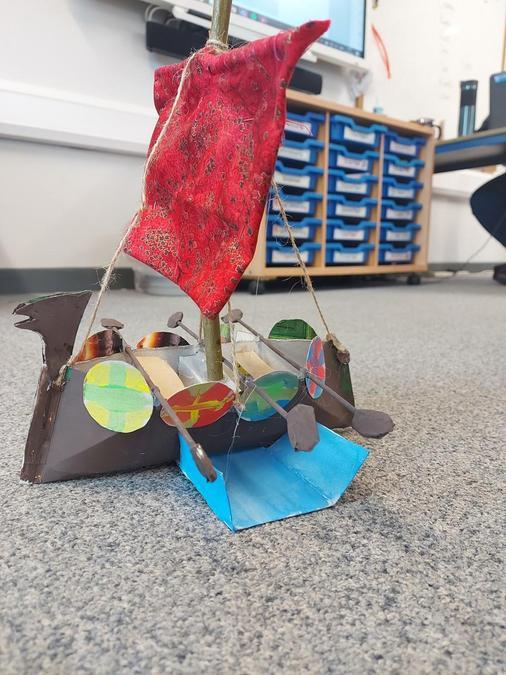 Sylvie's Viking Longboat