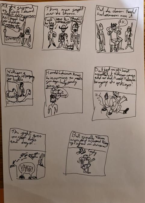 Otis' 1066 Comic Strip
