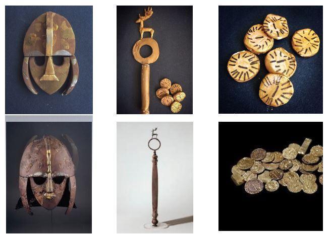 Grace's Sutton Hoo Artefacts