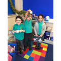 We worked together to keep our person safe!