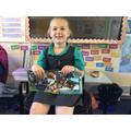Evie's trip to Lego Land