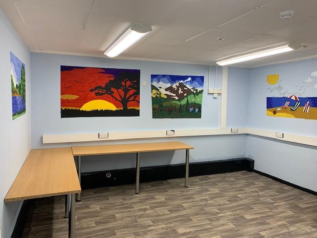 Reflection Room - A quiet space for pupils to learn or take part in therapies.