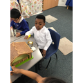 We have explored our Nativity scene during small world play