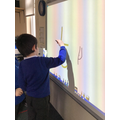 we have been forming each letter on the board