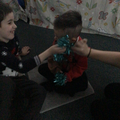 """In Sensology, we explored tinsel in """"touch"""""""