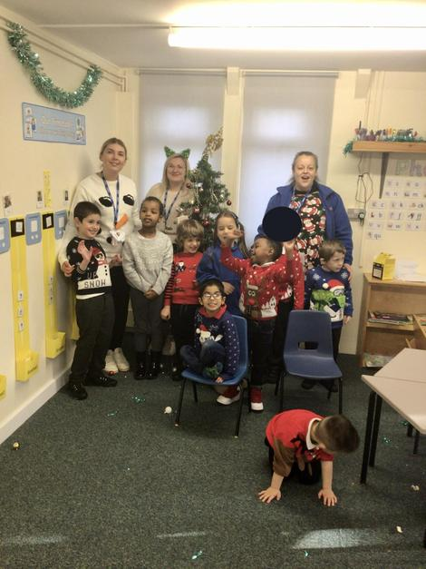 We had a great day for Christmas Jumper day. We all felt very festive!