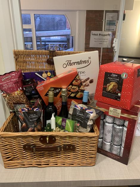 Christmas Hamper - main prize