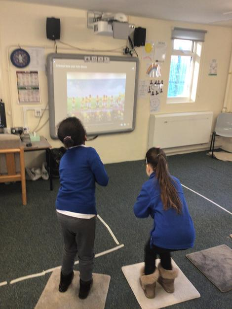 Copying movements in Sensology