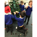 We decorated our class tree