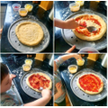Making yummy pizza