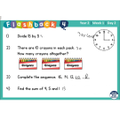 Testing your recall with flashback maths