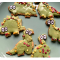 These dinosaur biscuits look too good to eat!