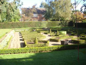 The beautiful graden maze.