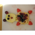 Designing and making healthy fruit snacks