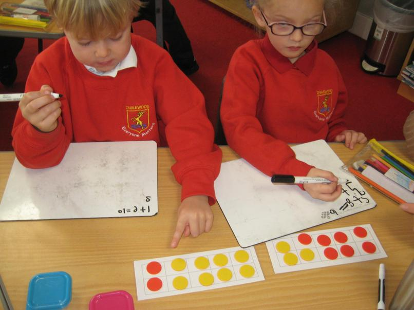 using tens frames in maths