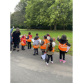 KS1's local walk looking at Human and Physical features