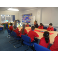 The School Council meet to discuss 'the crime'.