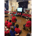 We all told the story using talk for writing.