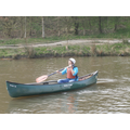 Mrs. Marsh canoeing like a pro!