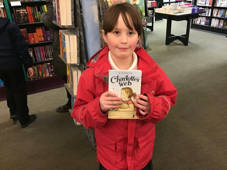 I chose a book called Charlotte's Web.