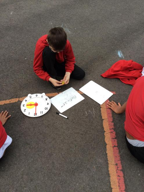 Investigating the parts of a circle