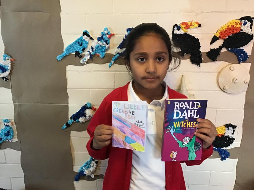 We made our own Roald Dahl inspired books!