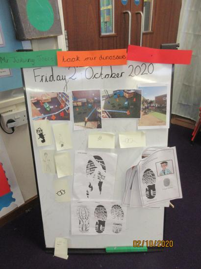 We investigated the clues and suggested who we thought the culprit was!