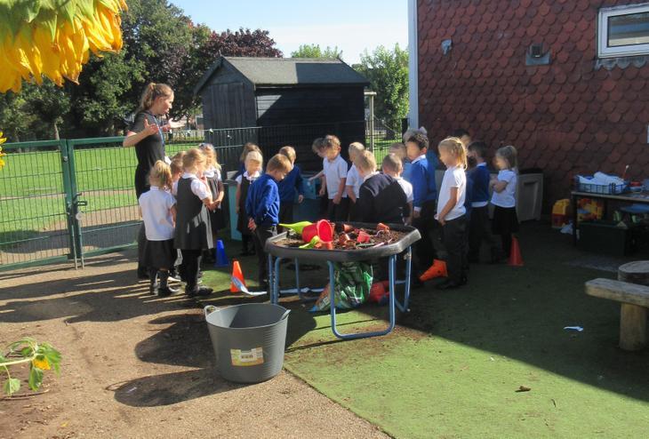 We investigated the crime scene!
