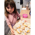 Layla made cakes!
